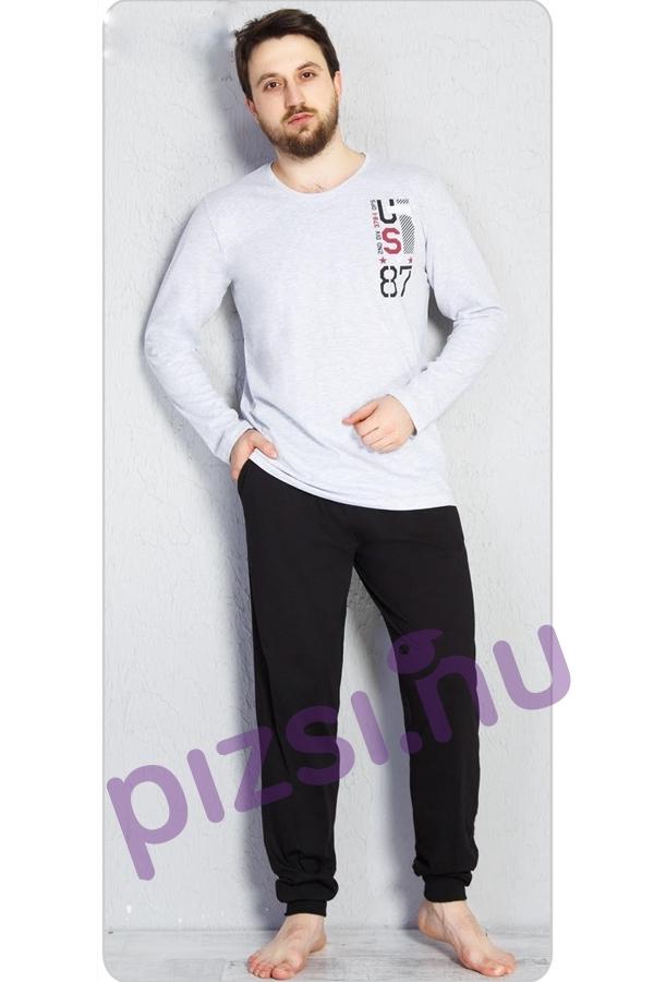 Férfi hosszúnadrágos pizsama - Hosszúnadrágos férfi pizsama ... 32031d2450
