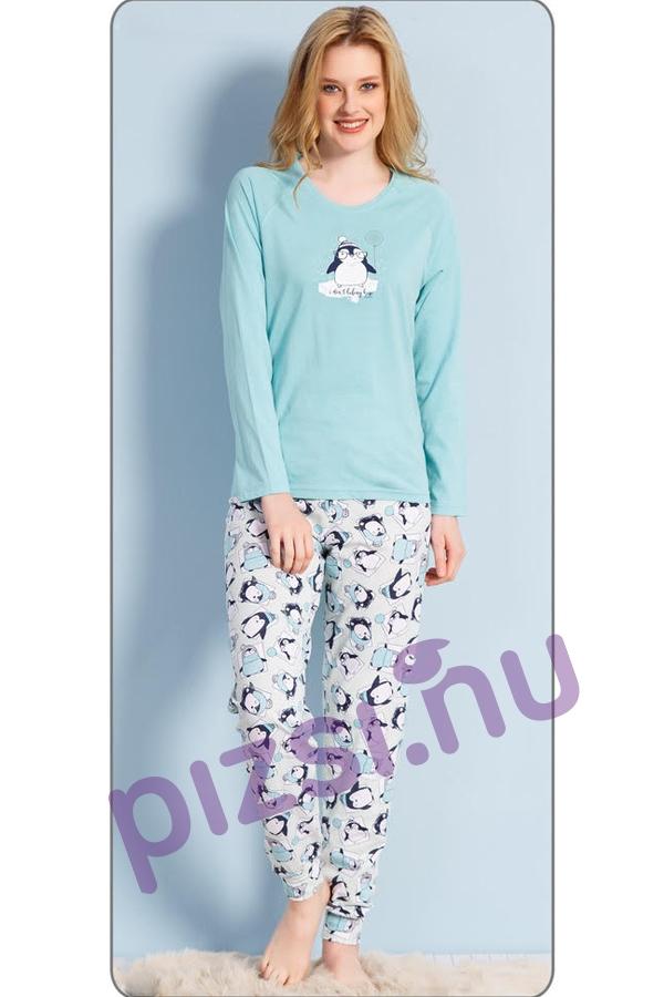 Női hosszúnadrágos pizsama - Hosszúnadrágos női pizsama - Pizsama ... 09b6554b5d