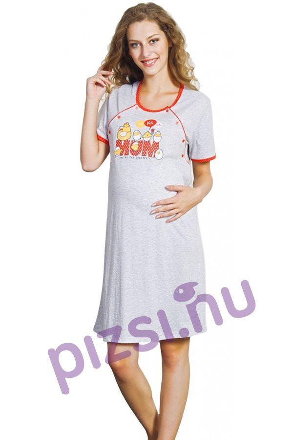 Kismama szoptatós hálóing - Kismama hálóing - Pizsama webáruház ... 7e659da255