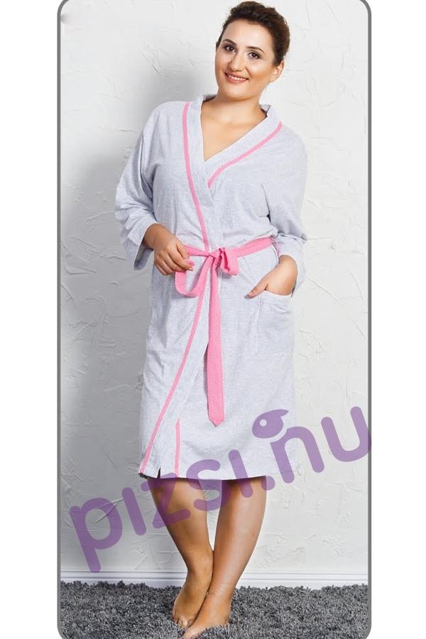 Női pamut köntös - Női extra méretű pamut köntös - Pizsama webáruház ... 94ef114a4b