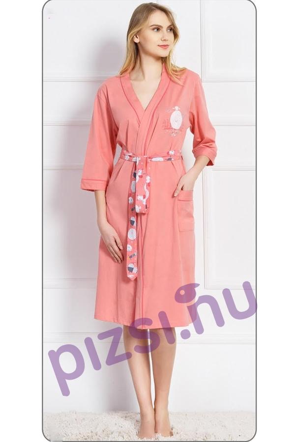 cd89ca0605 Női pamut köntös - Női pamut köntös - Pizsama webáruház - Felnőtt és ...