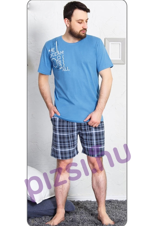 Férfi rövidnadrágos pizsama - Rövidnadrágos férfi pizsama - Pizsama ... 73c4b32433